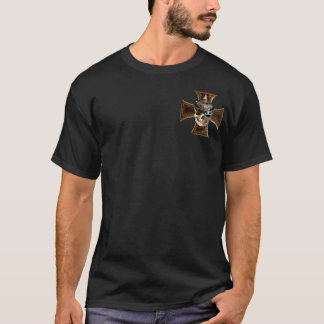 Prussian skull w iron cross T-Shirt