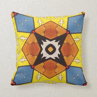 Prydnadskudde with samisk design! throw pillow