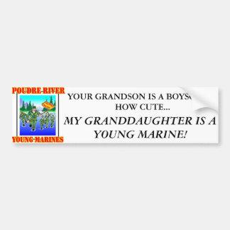 PRYM Granddaughter bumper sticker