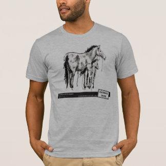 Przewalski's Horse, by Laura Lark T-Shirt