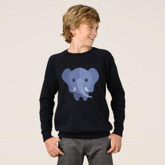 ps063 cute elephant sweatshirt