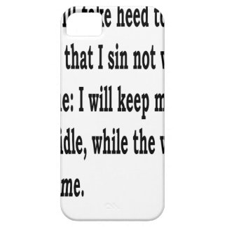 Ps. 39:1,w iPhone 5 case