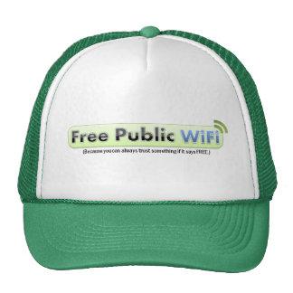 PSA Free Public WiFi Hat