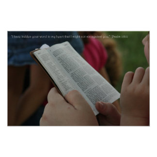 Psalm119:11 Poster