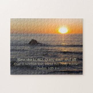 Psalm 103:1 jigsaw puzzle