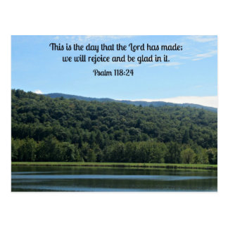 Psalm 118:24 This is the day... Postcard
