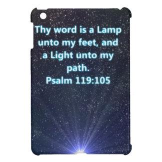 Psalm 119 bible verse iPad mini cases