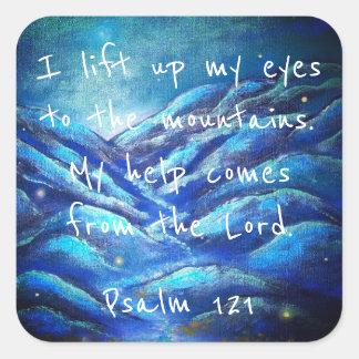 Psalm 121 Christian Scripture Stickers