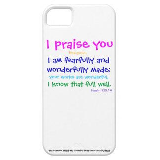Psalm 139:14 (Iphone 5 Case) iPhone 5 Case