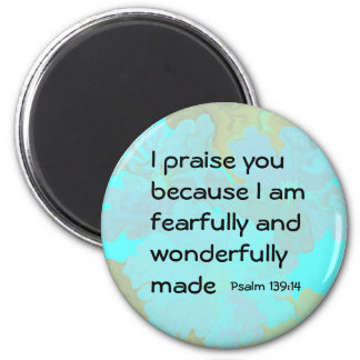 Psalm 139:14 magnet