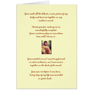 Psalm 139 Birthday Card
