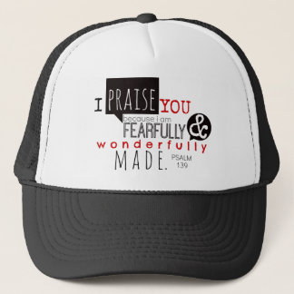 Psalm 139 - I Praise You Trucker Hat