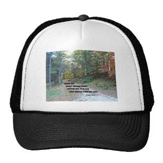 Psalm 142:3 When my spirit grows faint... Trucker Hat