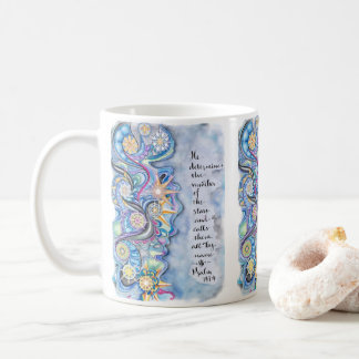 Psalm 147:4 He Calls The Stars by Name Coffee Mug