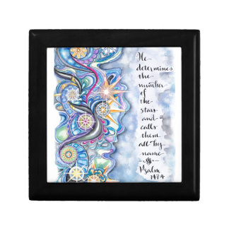 Psalm 147:4 He Calls The Stars by Name Gift Box