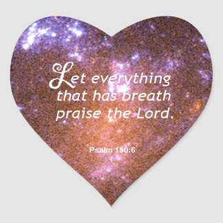 Psalm 150 6 sticker