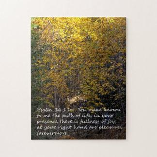 Psalm 16:11 Autumn Jigsaw Puzzle
