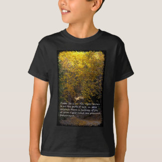Psalm 16:11 path T-Shirt