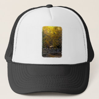 Psalm 16:11 path trucker hat