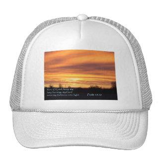 Psalm 18:28 Sunrise Trucker Hat