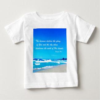 Psalm 19:1 baby T-Shirt