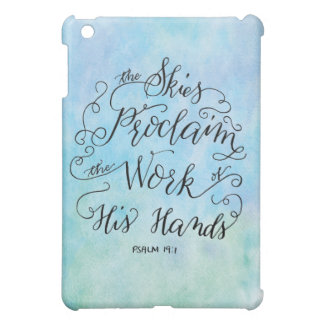 Psalm 19:1 case for the iPad mini