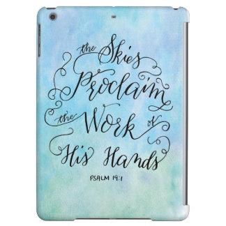 Psalm 19:1 iPad air covers