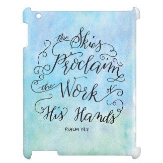 Psalm 19:1 iPad case