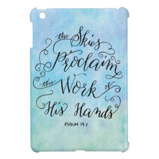Psalm 19:1 iPad mini covers