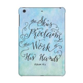 Psalm 19:1 iPad mini retina covers