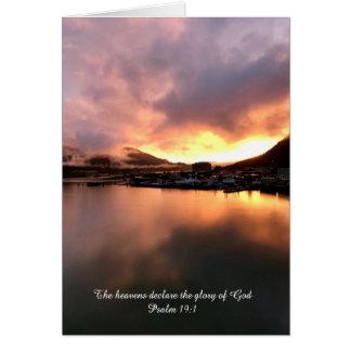 Psalm 19 card