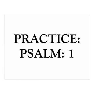 PSALM:1 POSTCARD