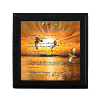 Psalm 23:1-6 The Lord Is My Shepard Gift Box