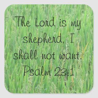 Psalm 23:1 Sticker