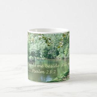 Psalm 23:2 Coffee Mug