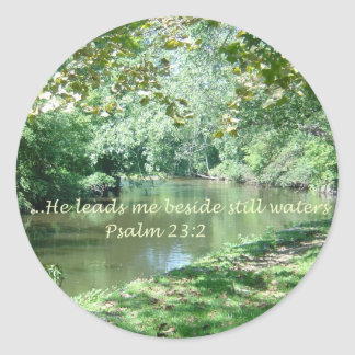 Psalm 23 Bible Verse Sticker