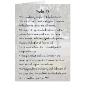 Psalm 23 Condolence Card