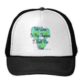 Psalm 23 hearts trucker hat