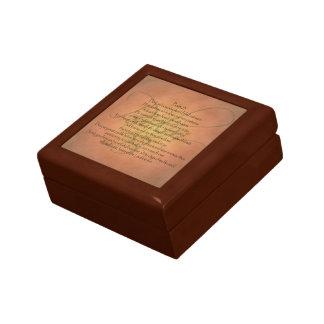 Psalm 23 KJV Christian Bible Verse Jewelry Boxes