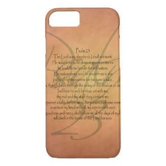 Psalm 23 KJV Christian Bible Verse Religious iPhone 7 Case