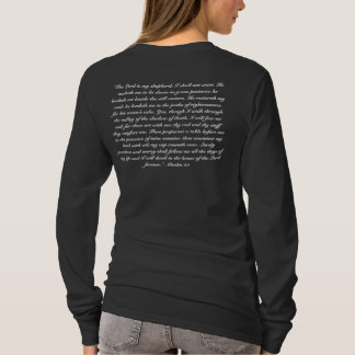 psalm 23 long sleeve women's T-Shirt