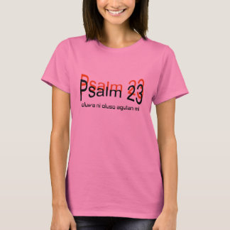 Psalm 23 T-Shirt(yoruba language) T-Shirt