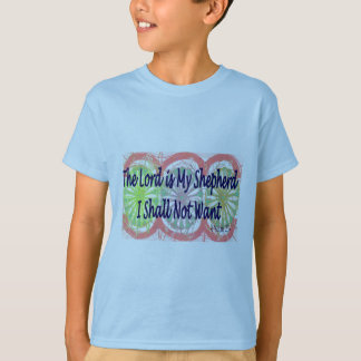 "Psalm 23, ""The Lord is my Shepherd"" T-Shirt"