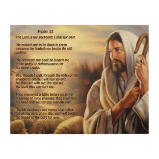 Psalm 23 wood wall art