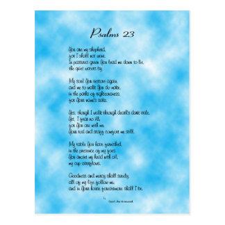 Psalm 23rd Postcard