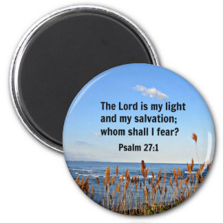 Psalm 27:1 magnet