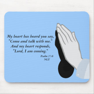 Psalm 27:8 mousepad
