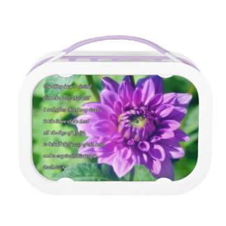 Psalm 27 Lunch Box