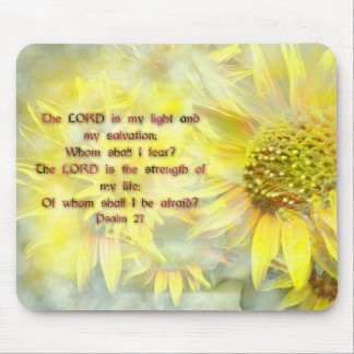Psalm 27 mouse pad