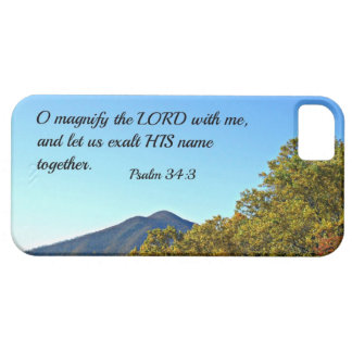 Psalm 34:3 O magnify the Lord with me... iPhone 5 Case